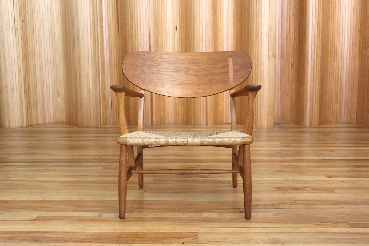 Hans Wegner CH22 lounge chair Carl Hansen and Son Denmark