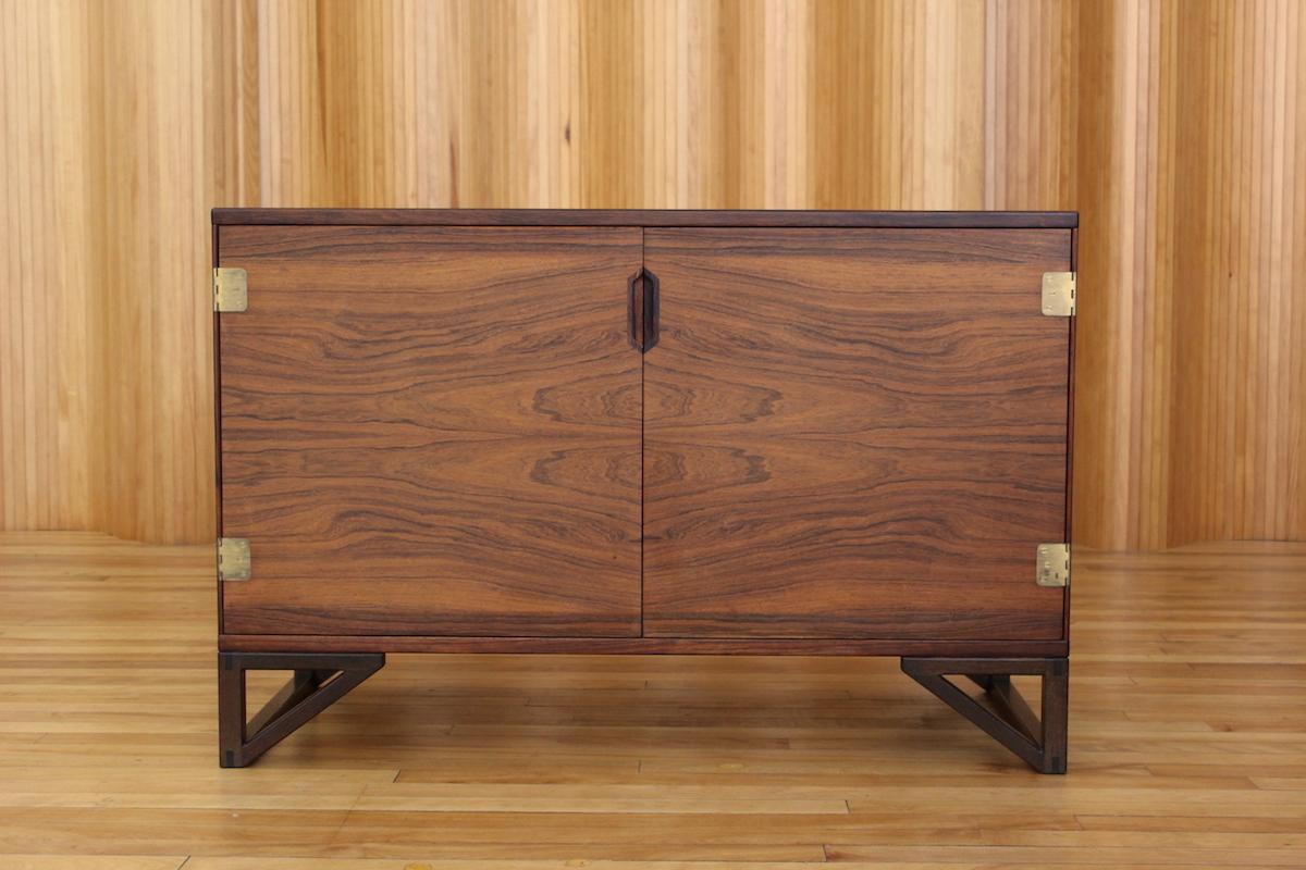 Svend Langkilde rosewood sideboard Langkilde Mobler Denmark