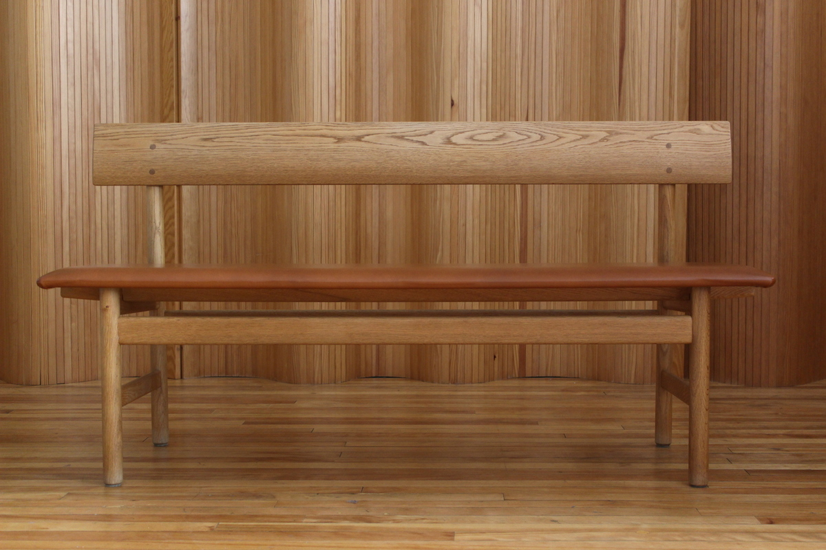Borge Mogensen model 171 oak bench - Fredericia Stolefabrik, Denmark