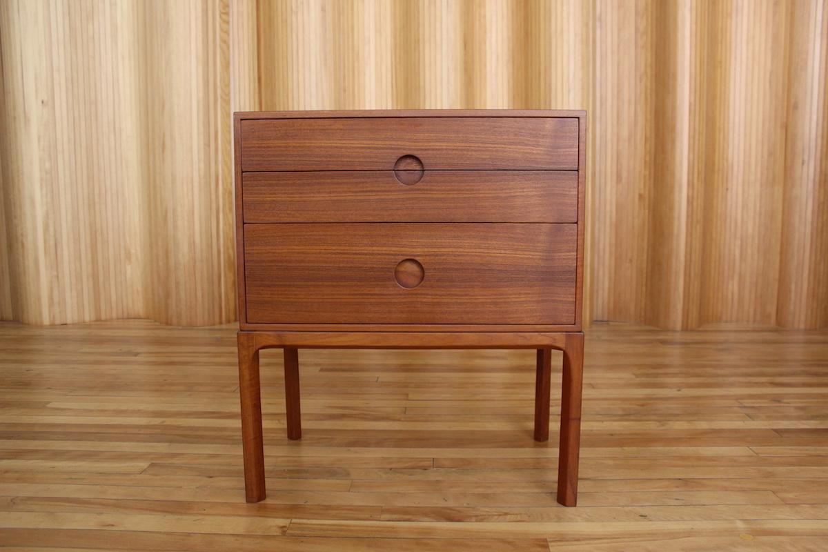 Aksel Kjersgaard model 386 teak chest of drawers