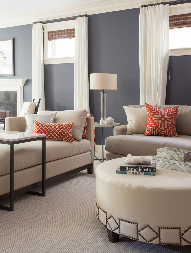 Cool and Comfortable Family Room, EKD Chicago