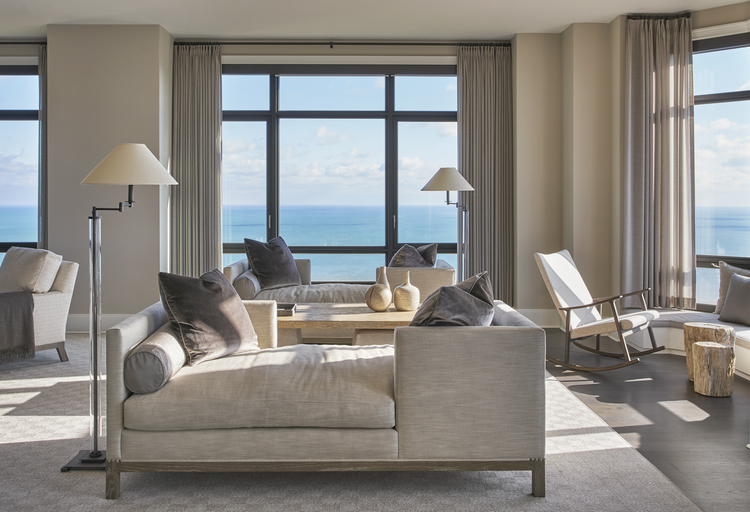 Chicago Penthouse with View of Lake Michigan, EKD Chicago