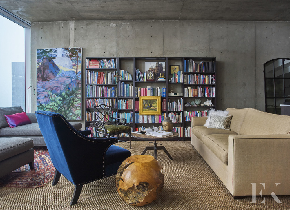 Colorful Contemporary Chicago Apartment, EKD