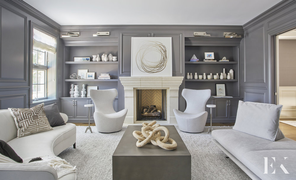 Cool and Comfortable Living Room, EKD Chicago