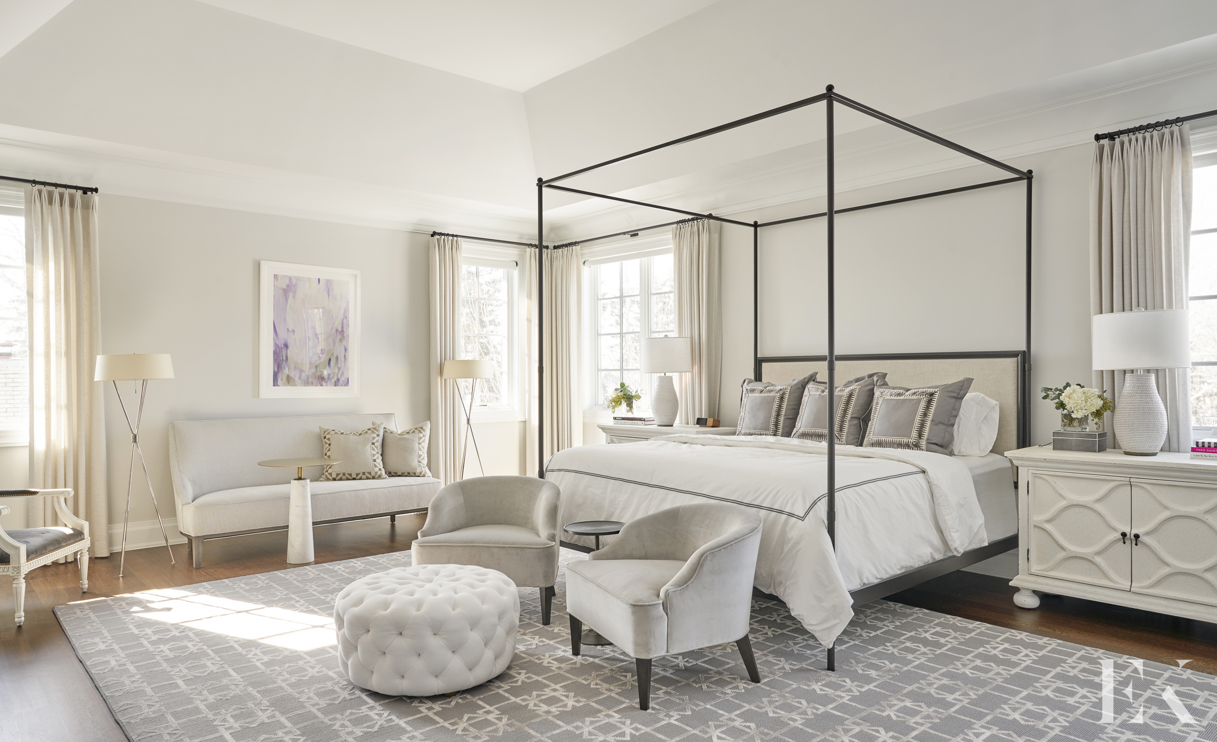 EKD, Large and Luxurious Master Bedroom