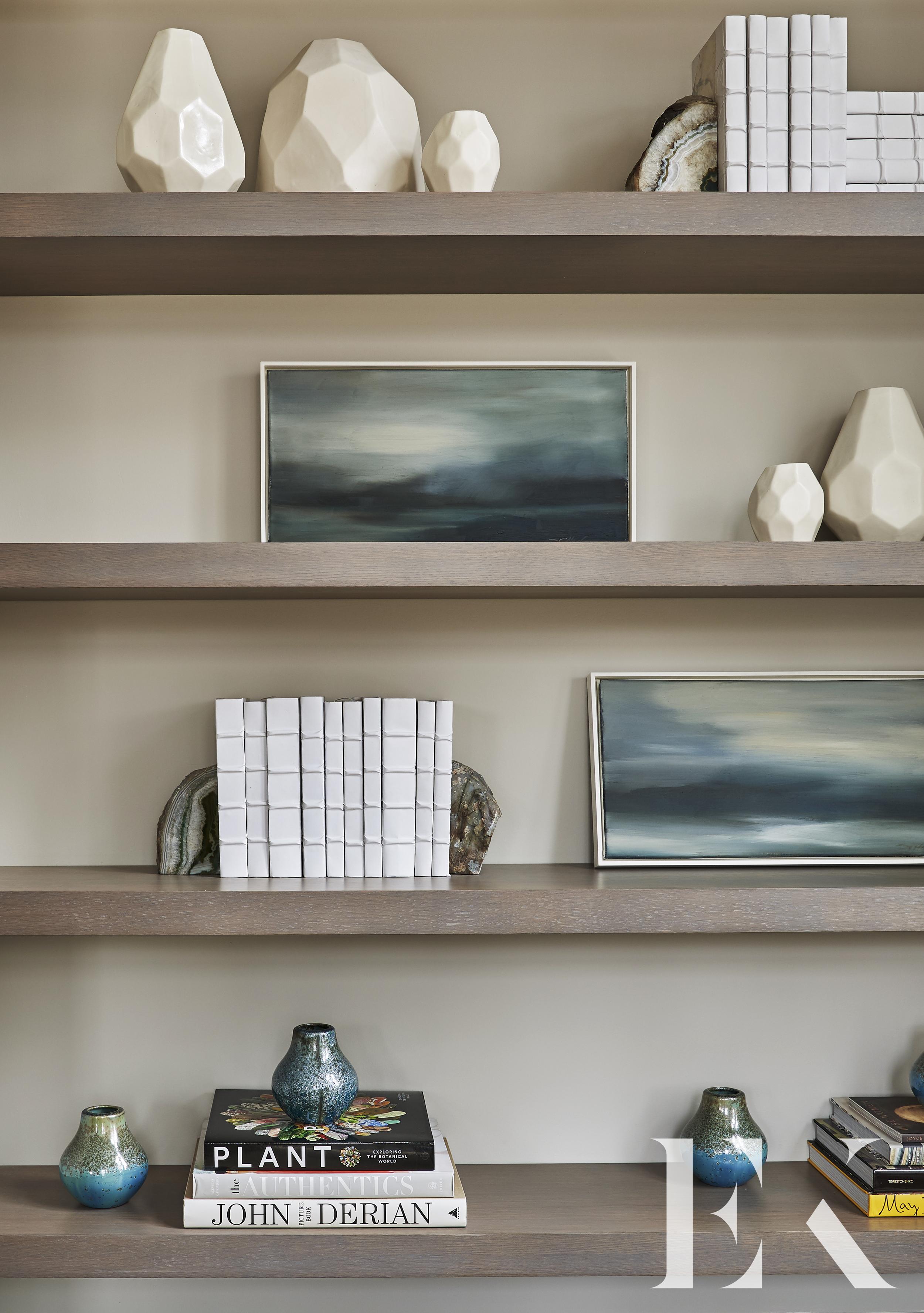 EKD, Interior Design Bookshelf with Accessories