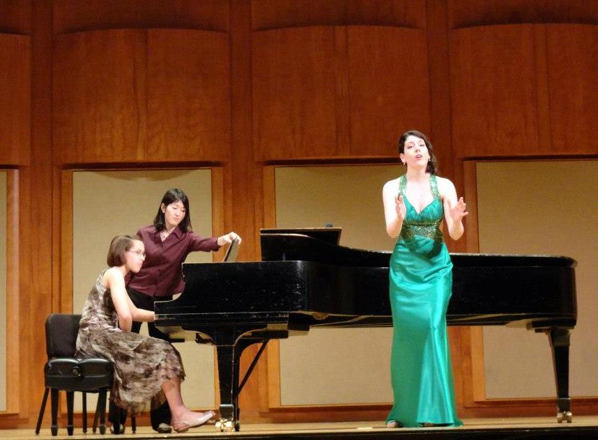 With Elizabeth Chladil, piano.