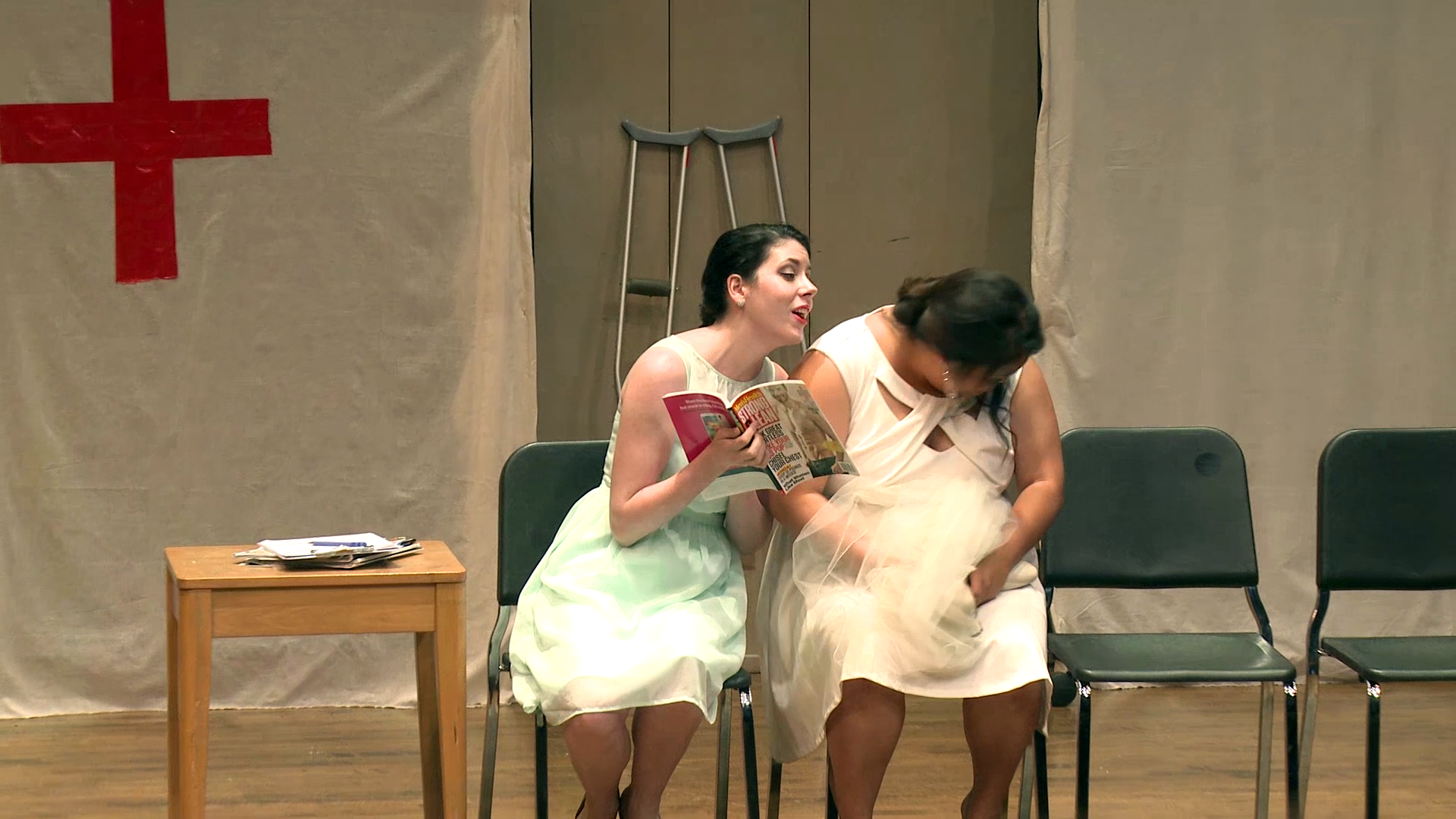 """From OperaWorks' """"The Heist"""". With Alice Chung, mezzo-soprano."""