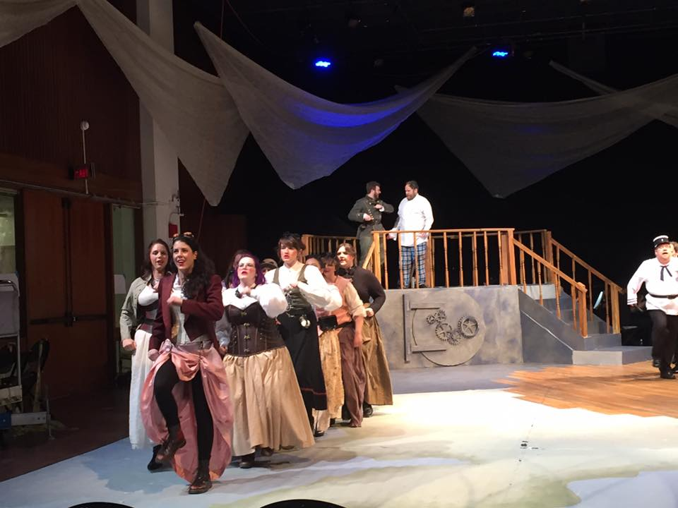 As Mabel in  Pirates of Penzance with the MIT Gilbert & Sullivan Players. Photo by Megan Jolliffe.