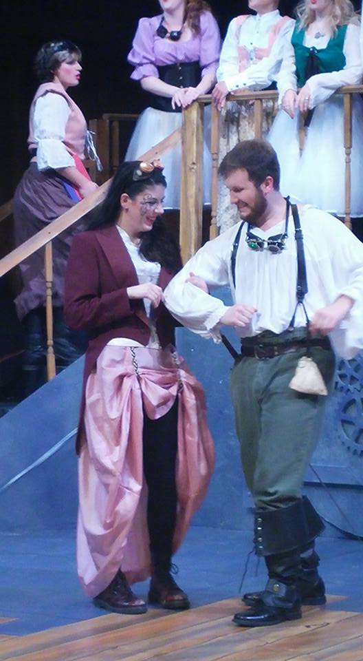 As Mabel in   Pirates of Penzance  with the MIT Gilbert & Sullivan Players. Photo by Sara Haugland.