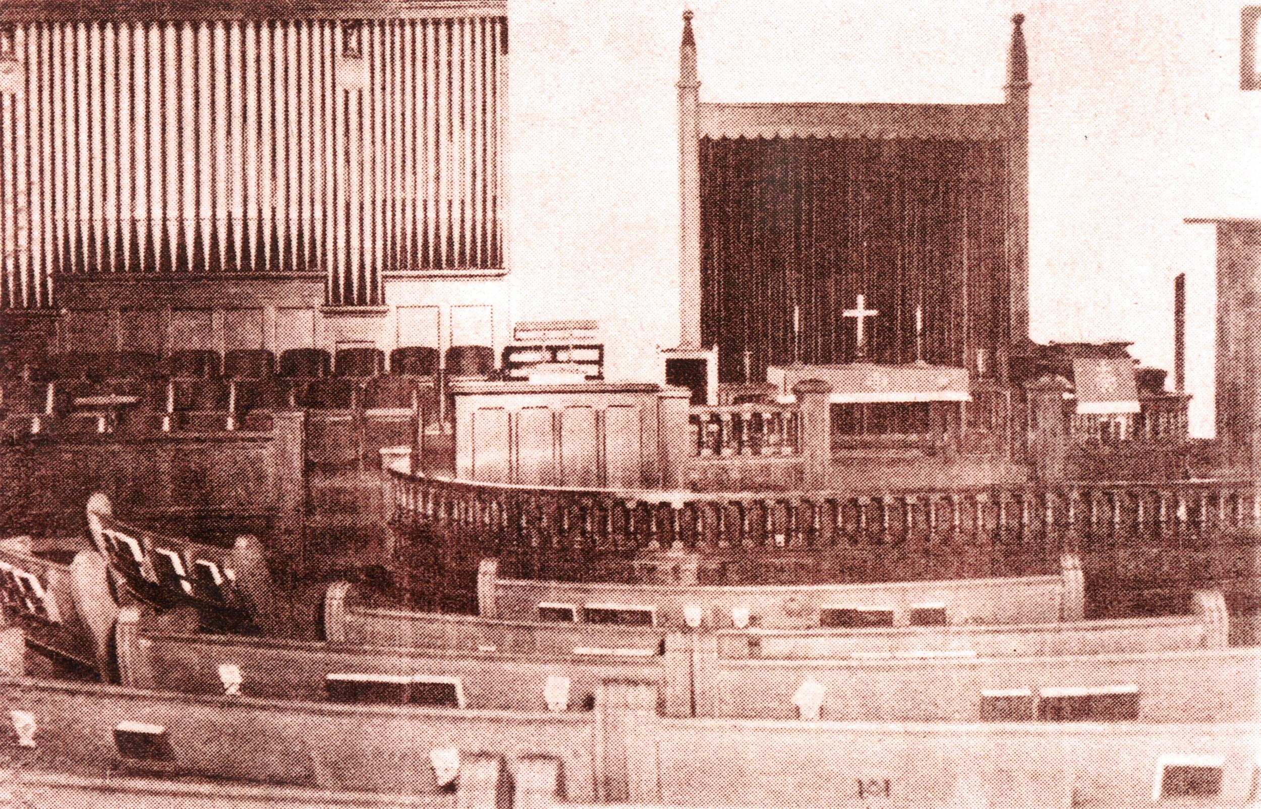 1910 Brick Building designed by Diedrich Rulfs