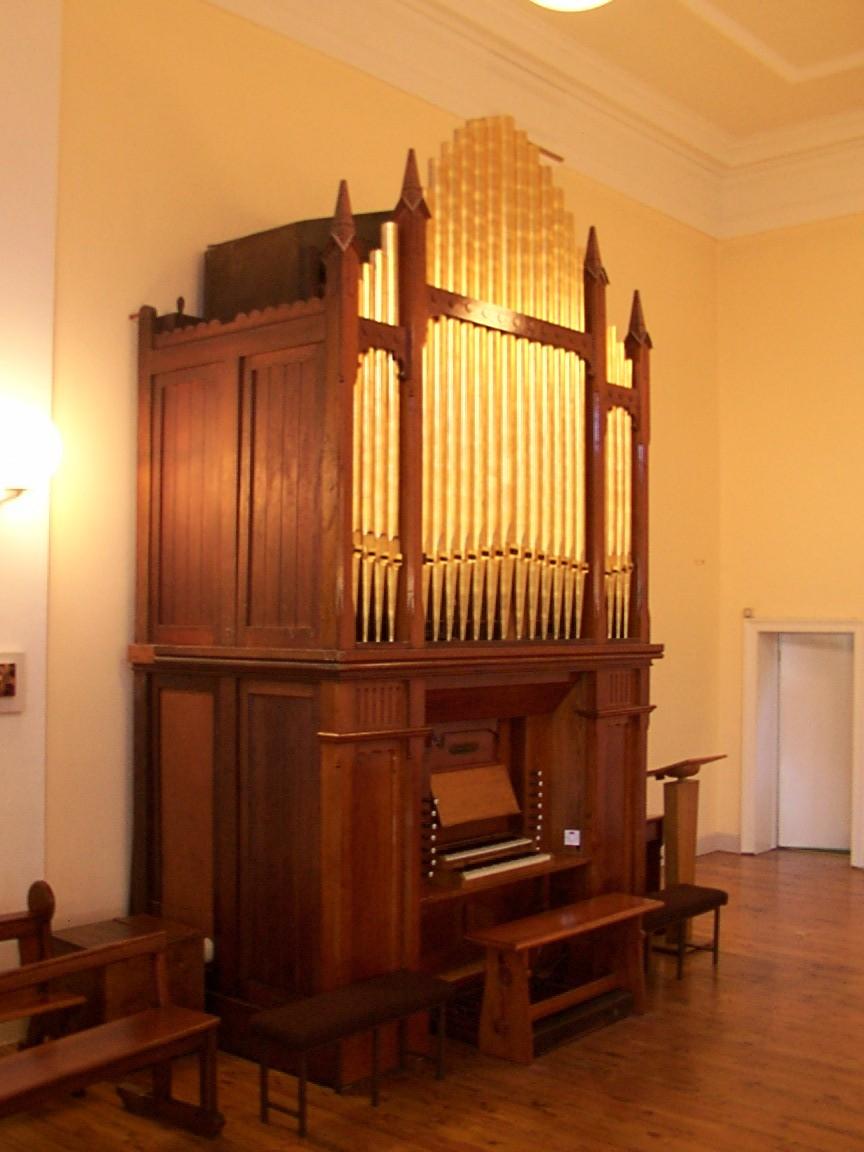 The church organ by William Telford at Milltown, Dublin.