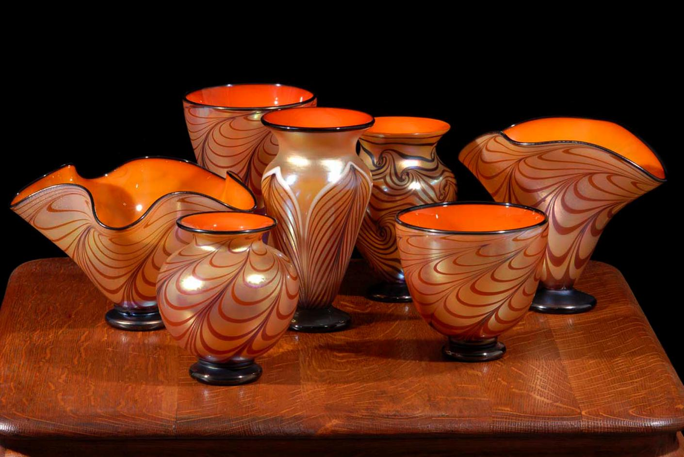 Tuscan Cabinet Vases