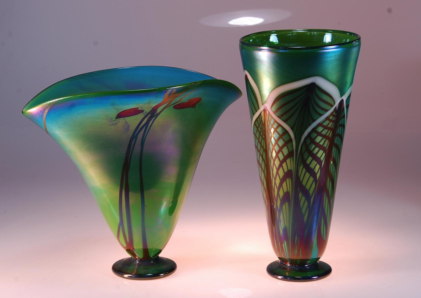 Moss vases
