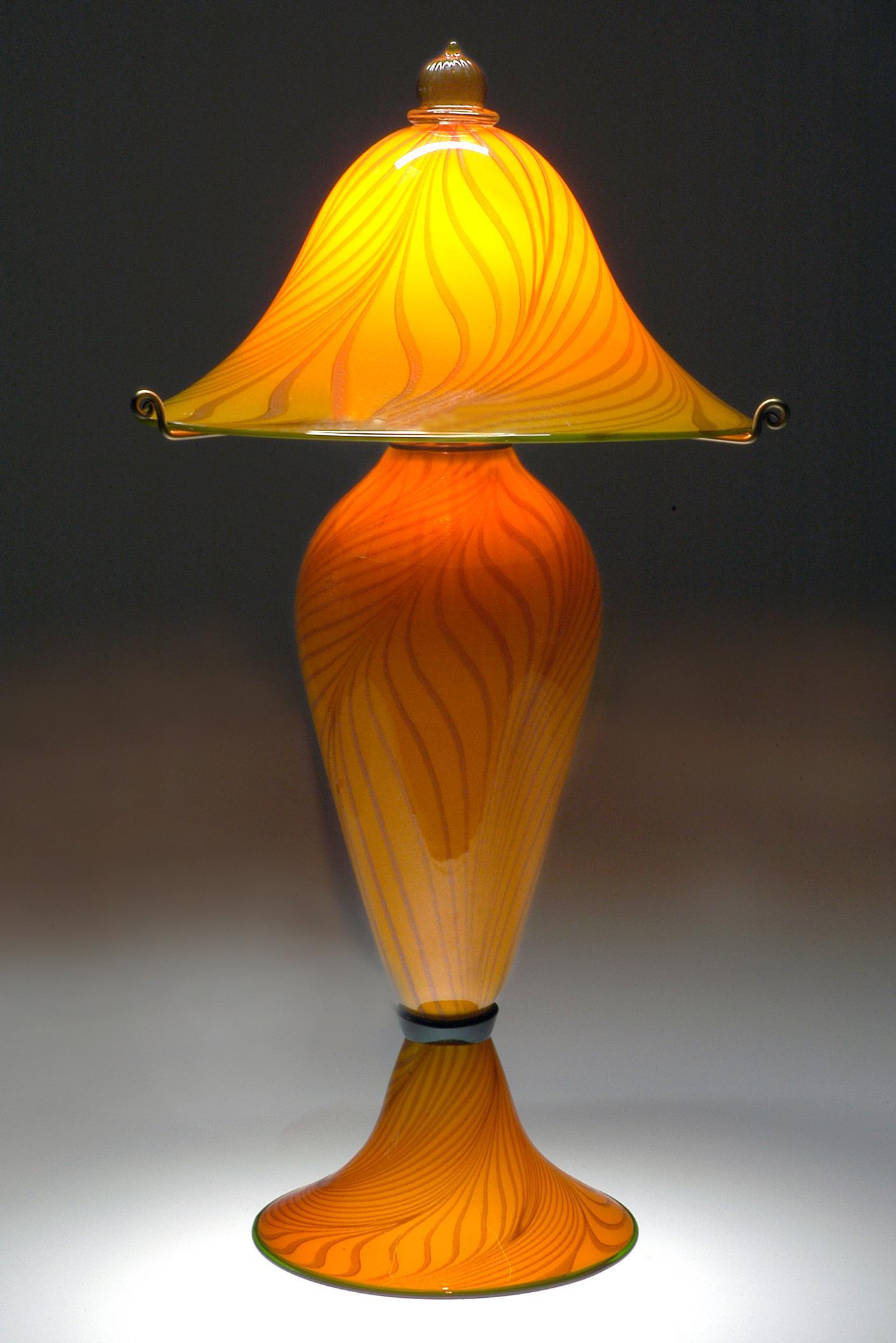 Lemon Passion three piece lamp