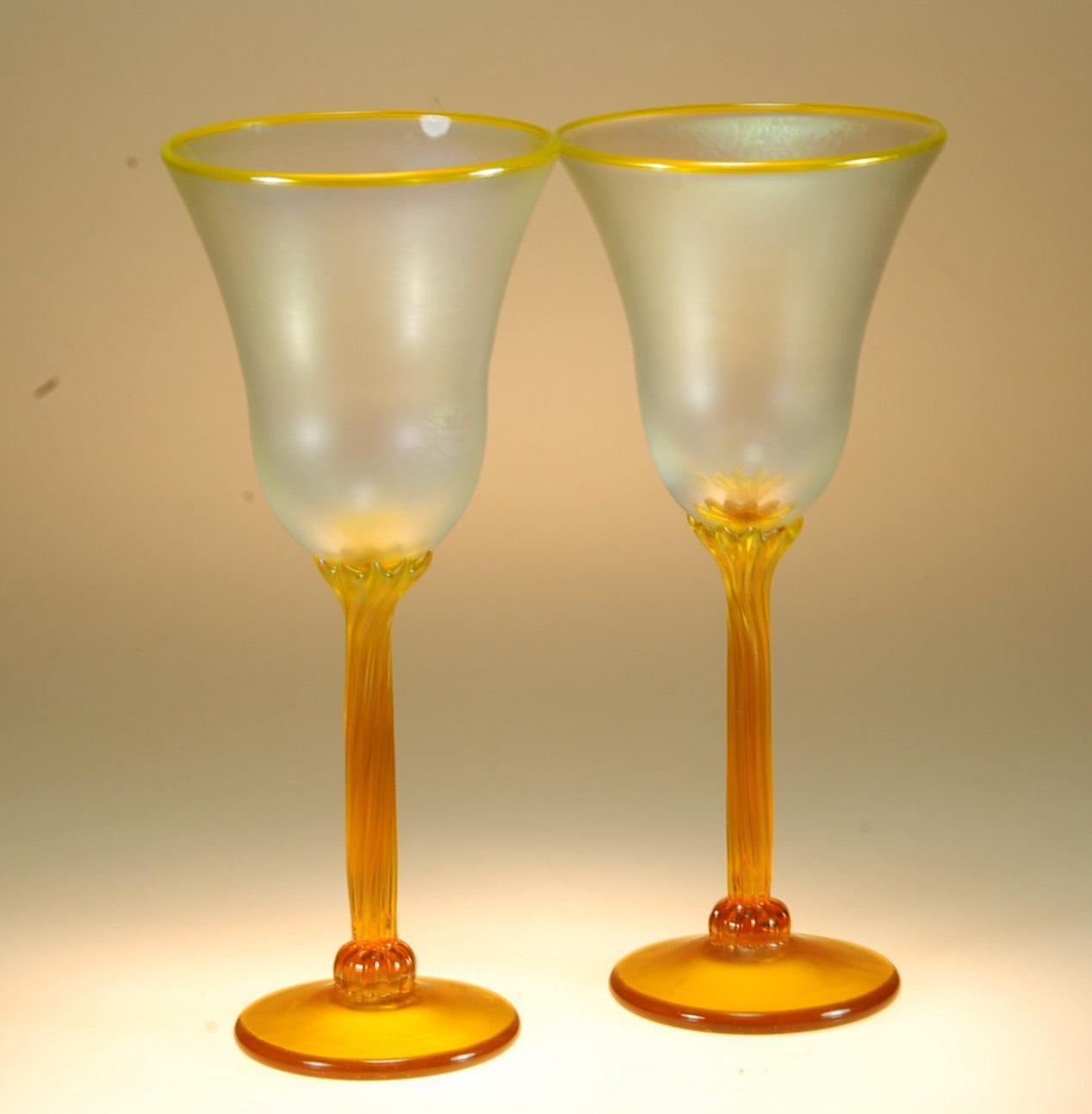 Lemon goblets