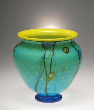 Aquarium orchid pot