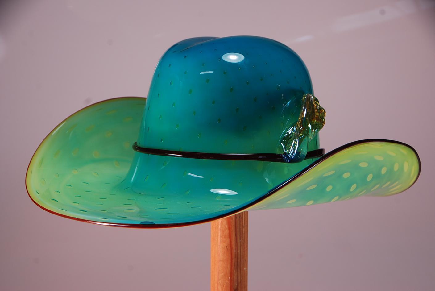 Aquarium cowboy hat