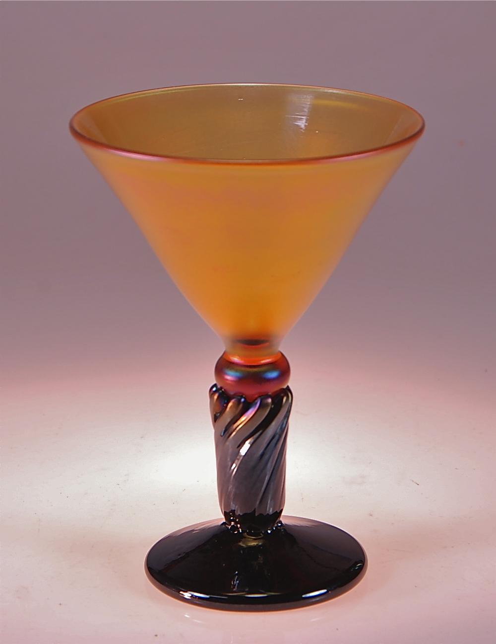 Honey Amber black Martini