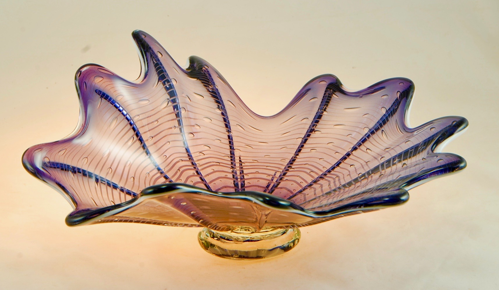 Splash Dish, Strini Art Glass