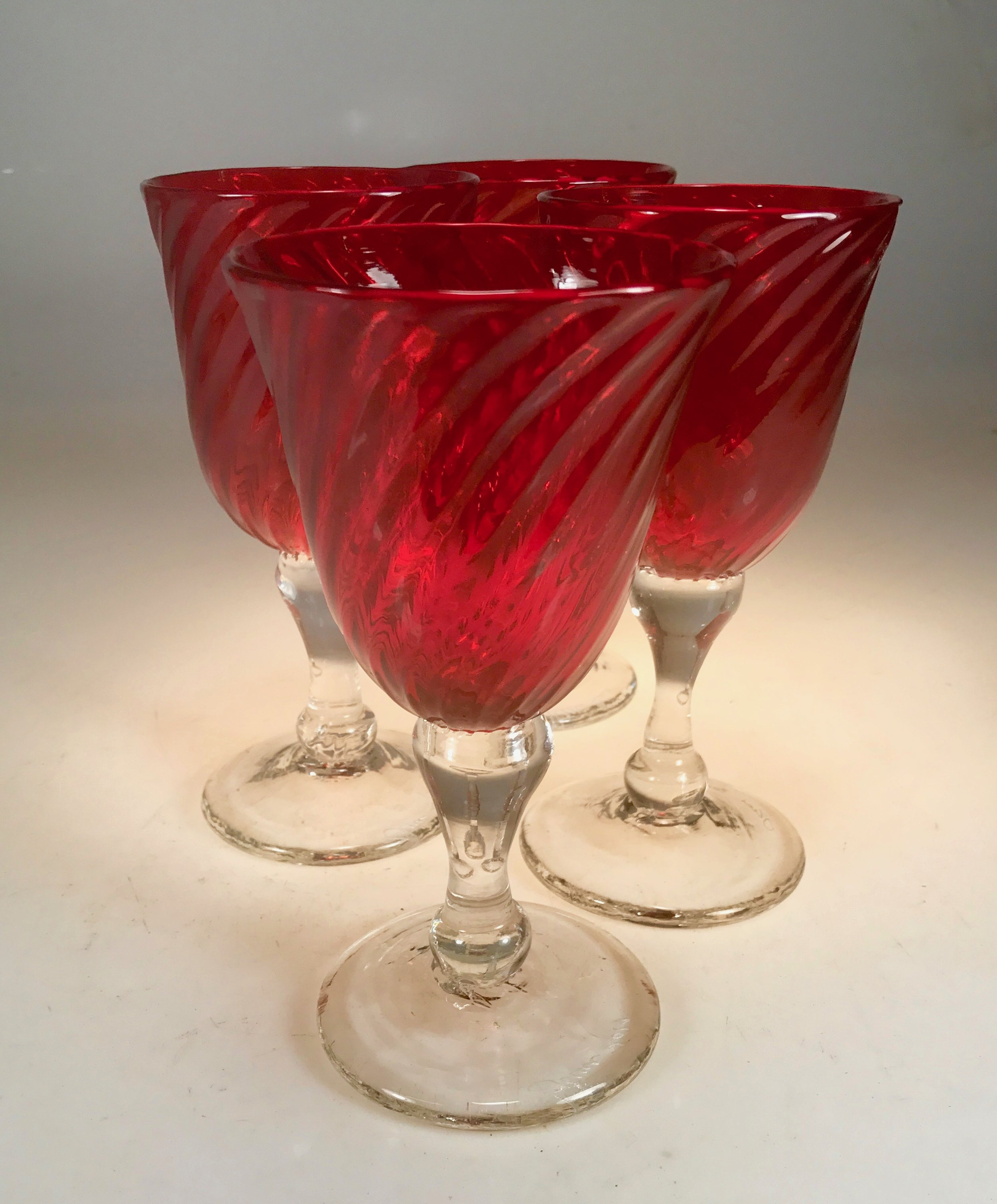 ruby glass striking real red these days.  may 2017 strini art glass