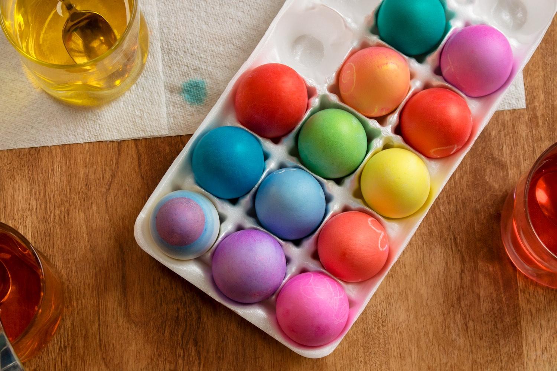 Easter Eggs Jackson Food Photography Delaware overhead