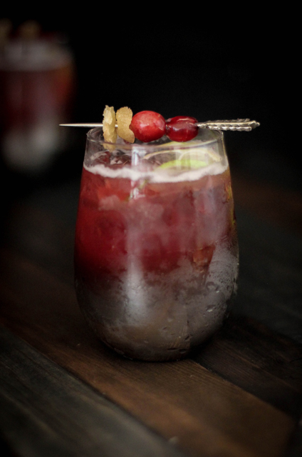 guest post by @beardandbonnet cranberry ginger moscow mule