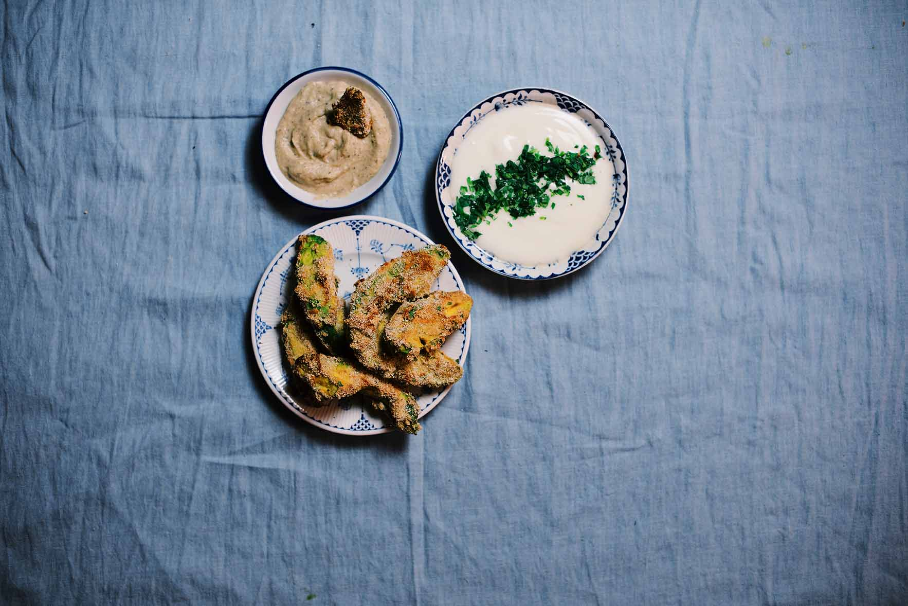 avocado fries two ways | A Brown Table