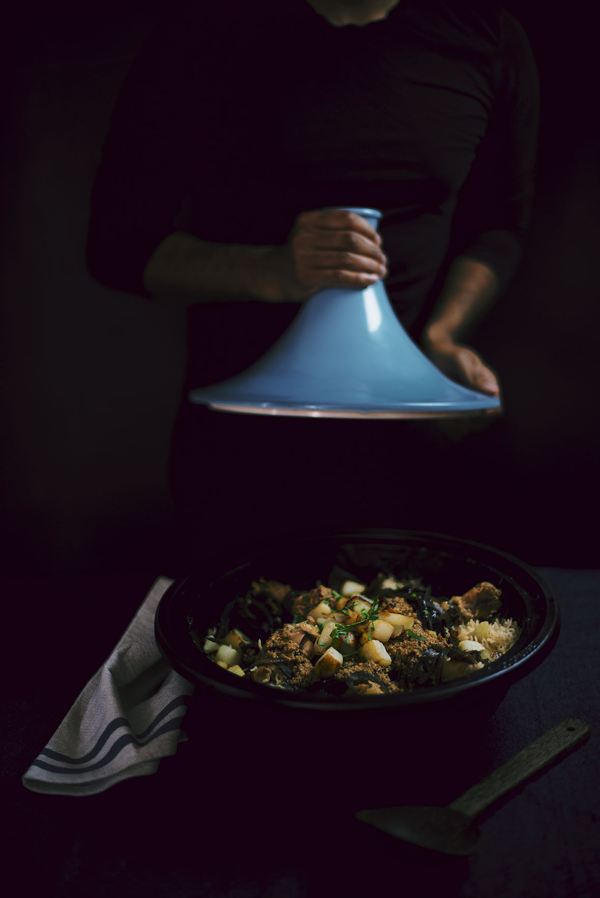 chicken biryani tagine | A Brown Table