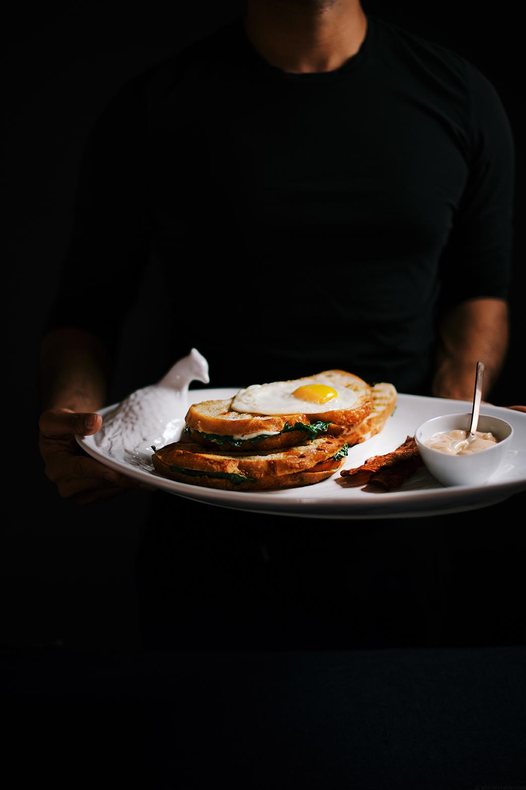 sweet potato panini with sriracha mayo   A Brown Table
