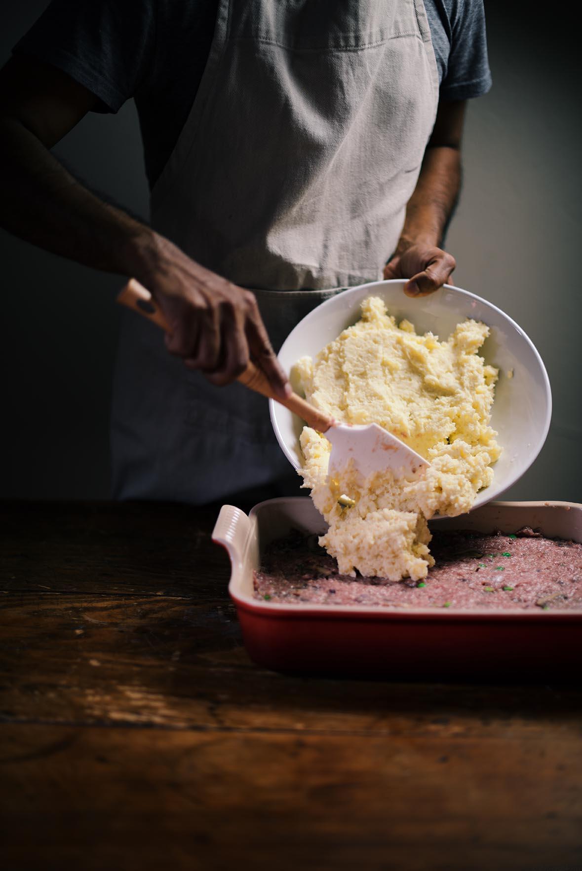 pork and mushroom pie | A Brown Table