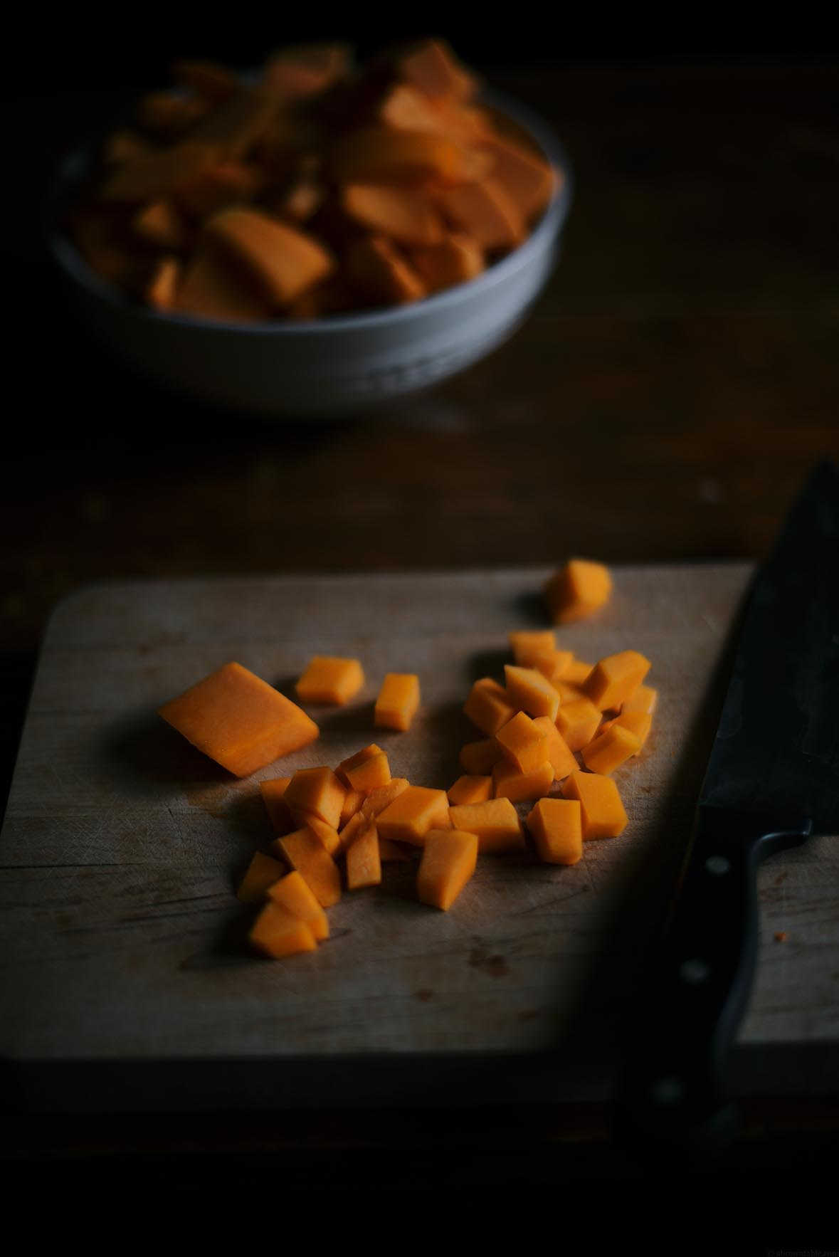 Butternut Squash and Apple Casserole | A Brown Table