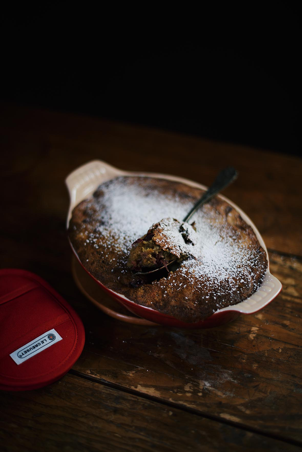 cranberry maple syrup pudding   A Brown Table