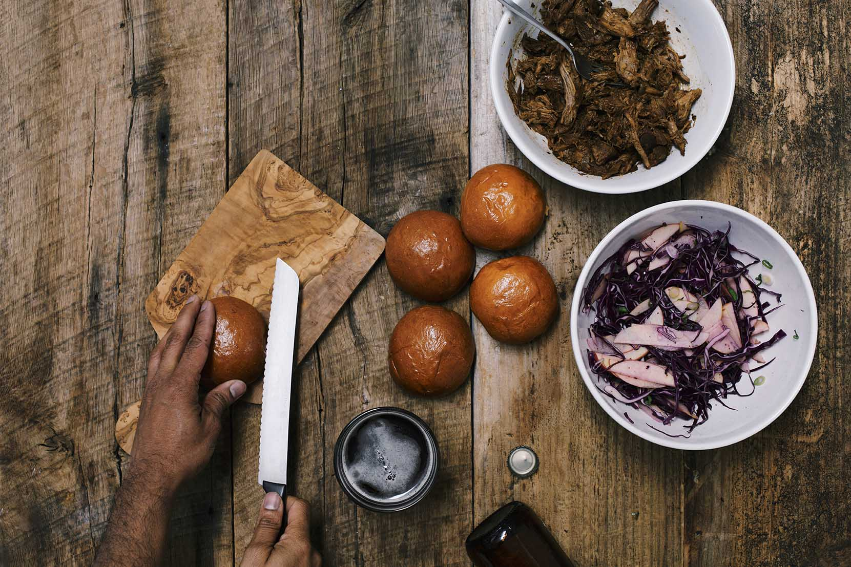 spicy pulled pork sliders | A Brown Table