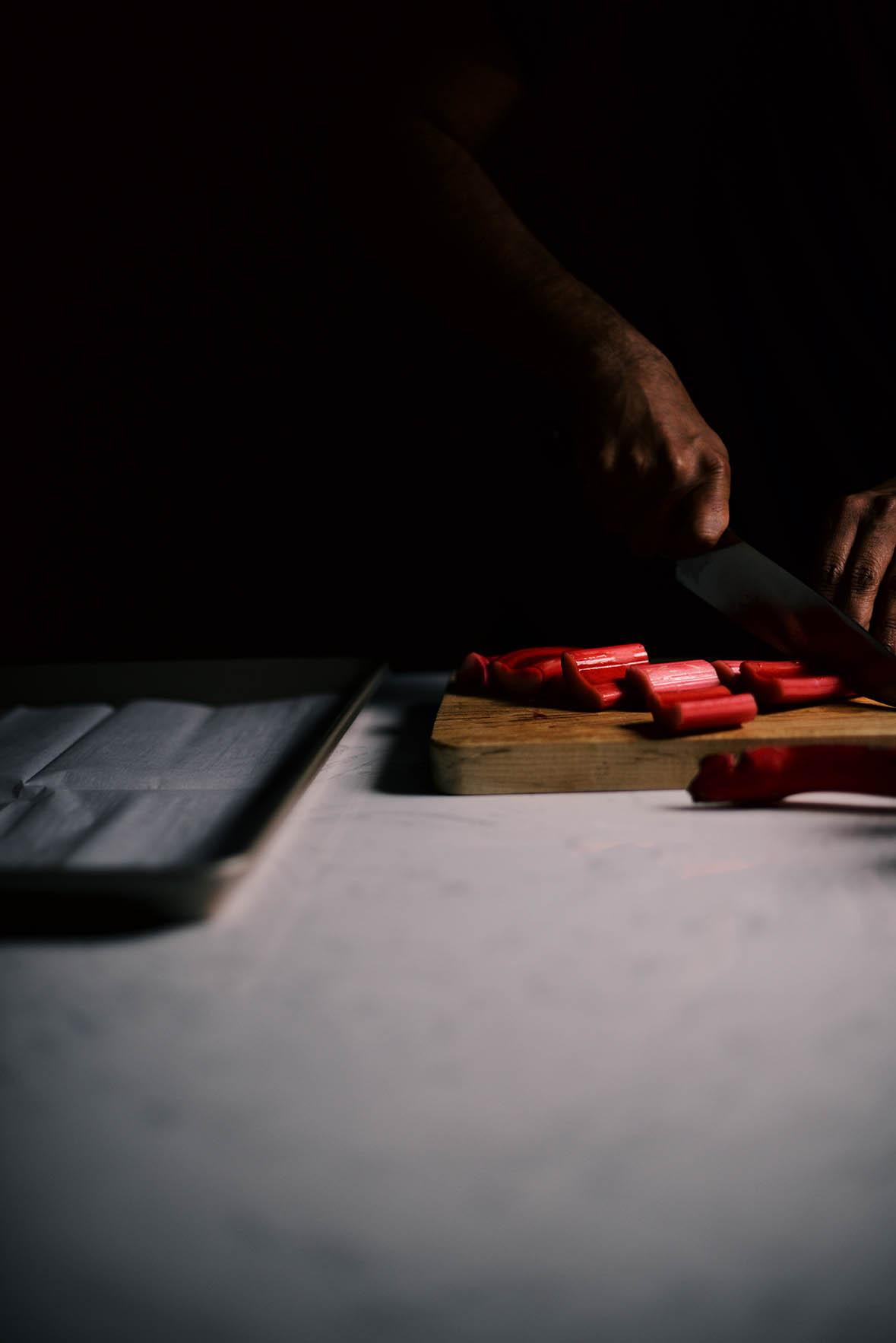 yossy's rhubarb semifreddo| A Brown Table