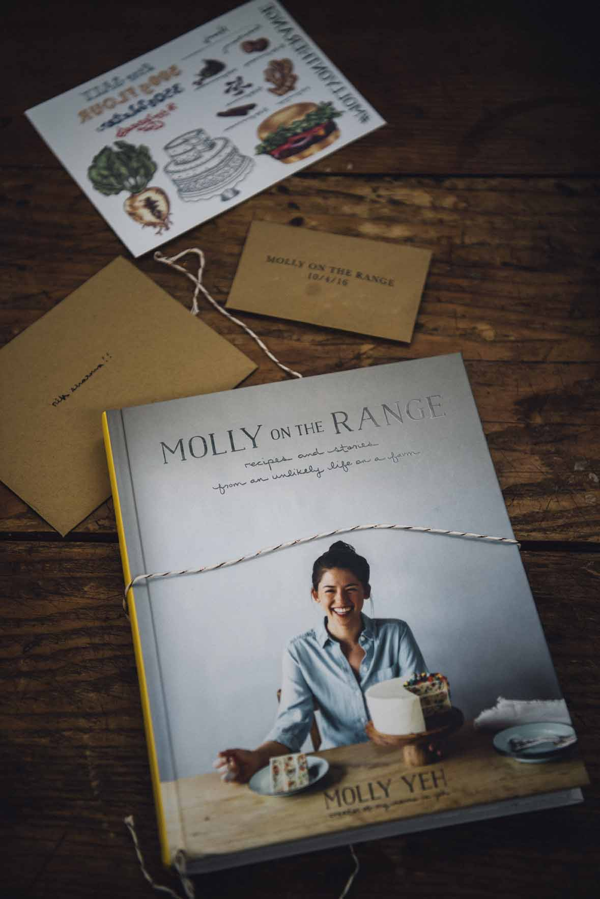 molly yeh's book: Molly on the Range | A Brown Table