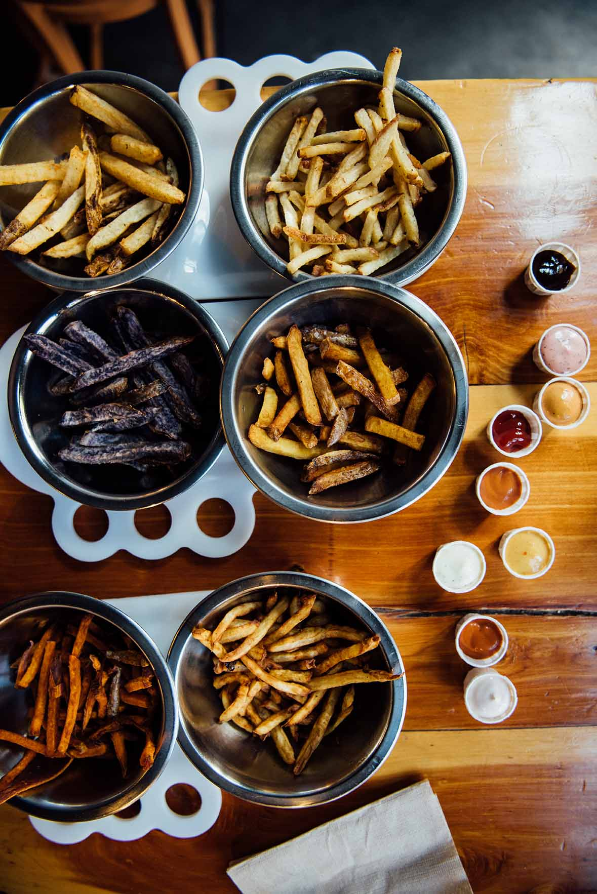 french fries tasting in Boise, Idaho | Nik Sharma Photography
