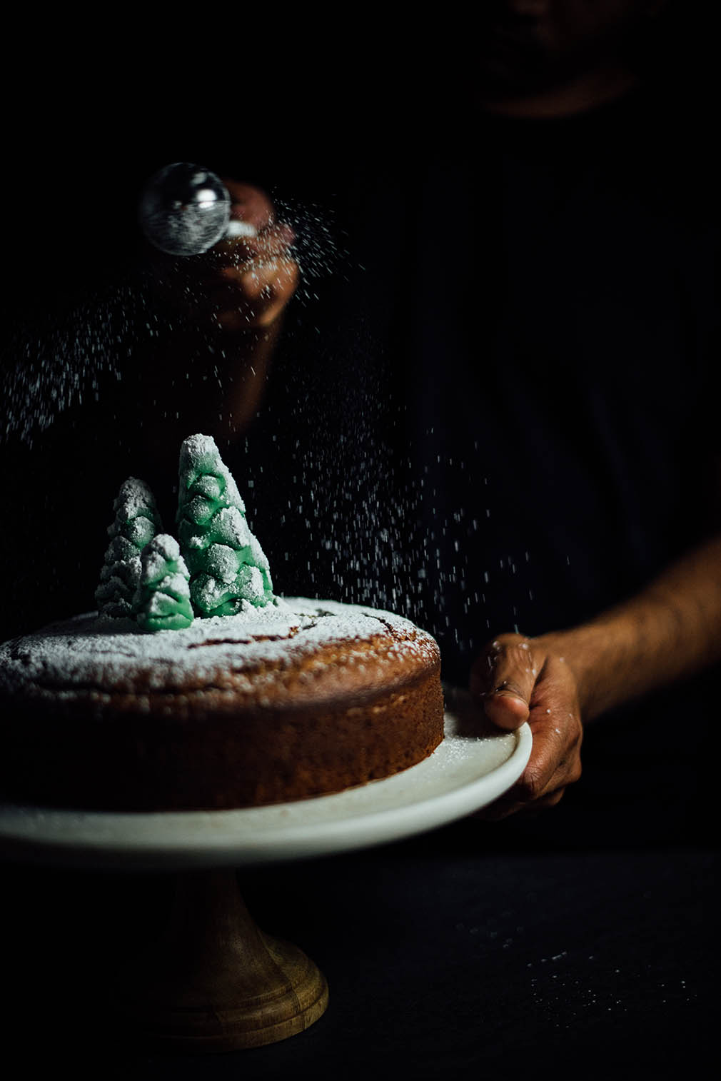 arbequina, brown miso and mirin gingerbread cake  | A Brown Table