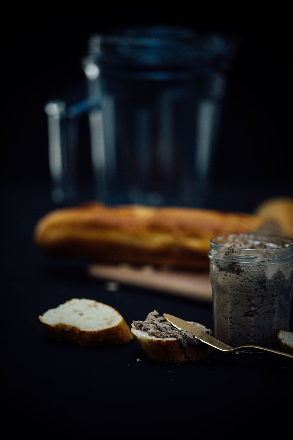 vegetarian pâté (with mushrooms, nuts and tea) | A Brown Table