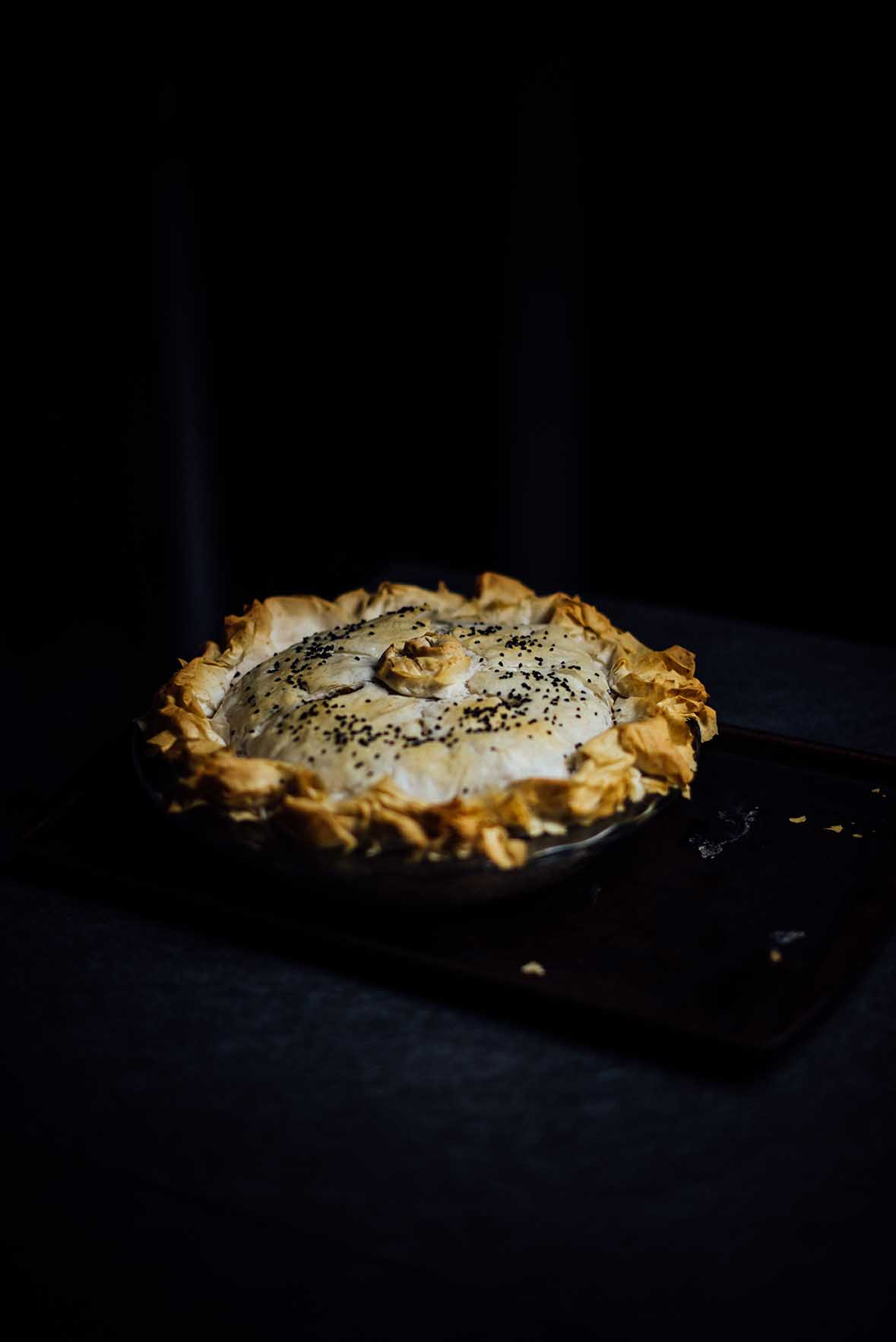 samosa phyllo pie | A Brown Table