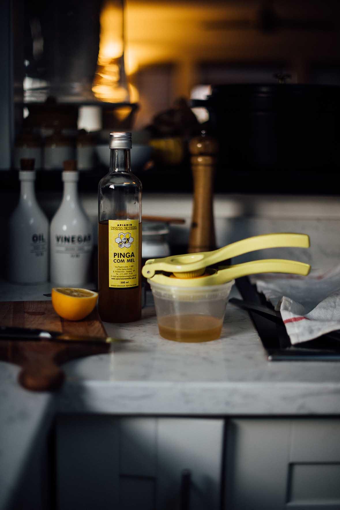golden lemon and turmeric cake | A Brown Table