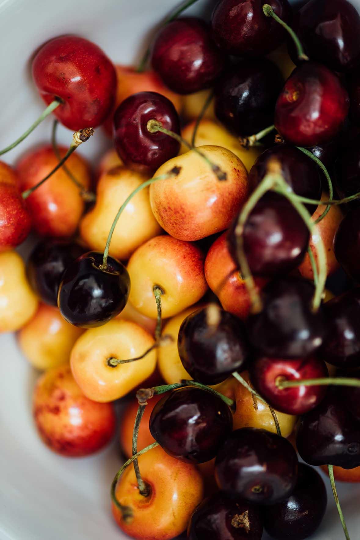 sourdough cherry cardamom cake |A Brown Table