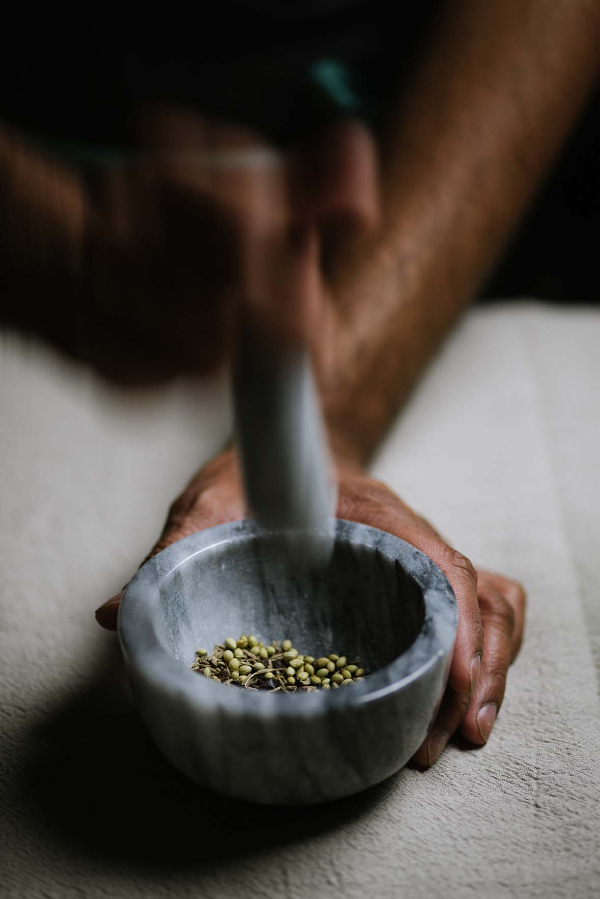 urfa biber garlic infused oil A Brown Table