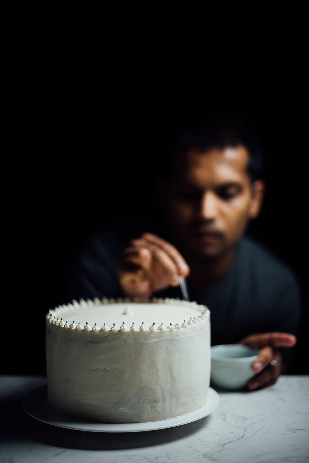 cardamom and pistachio layer cake |A Brown Table