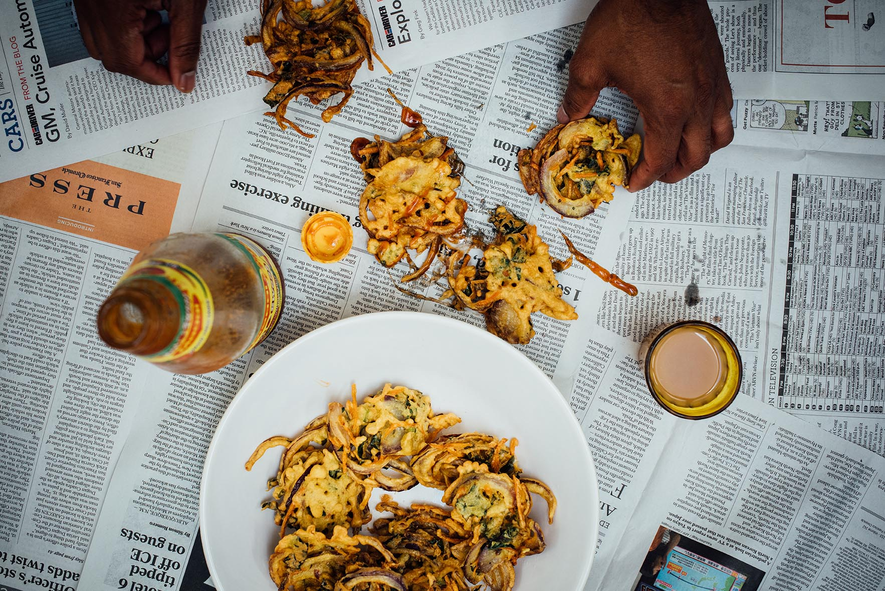 Kale Pakoras for SF Chronicle |A Brown Table