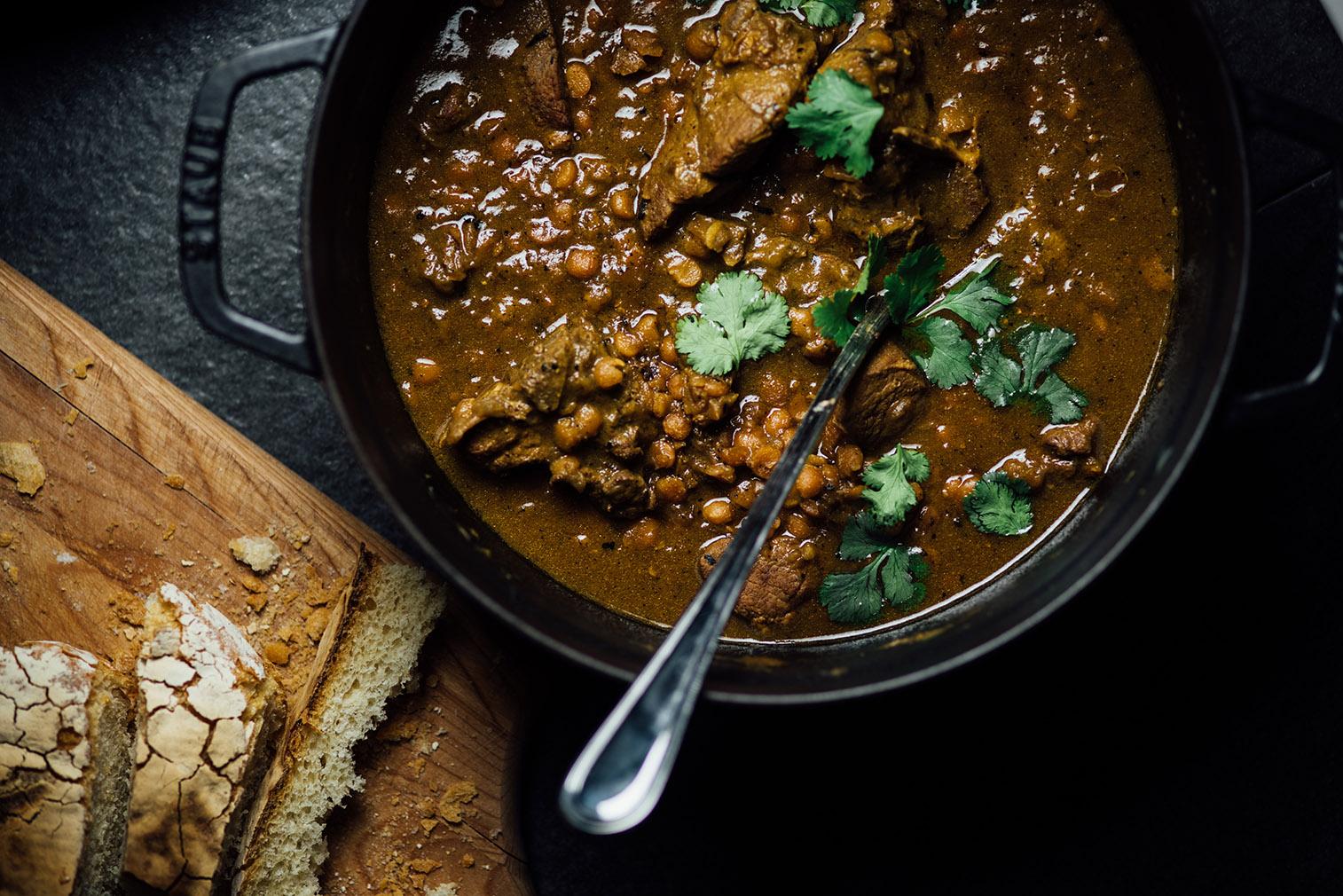 lamb and dal curry no.1 | Nik Sharma