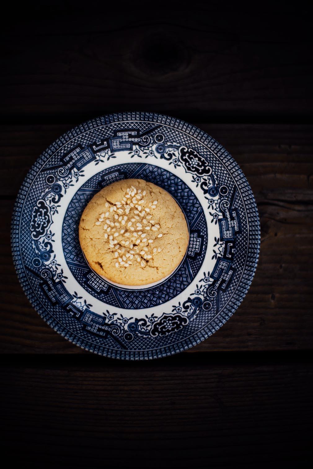 tahini and rose water cookies   Nik Sharma