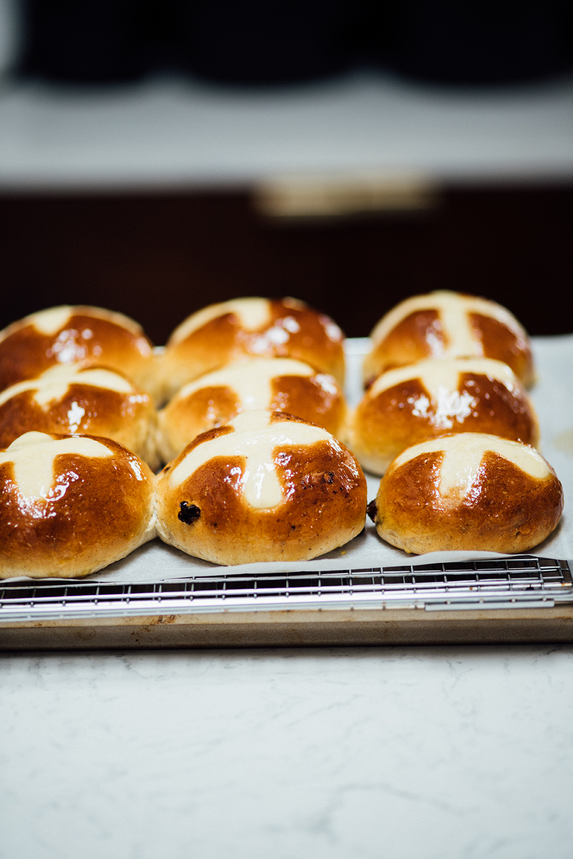 hot cross buns| Nik Sharma