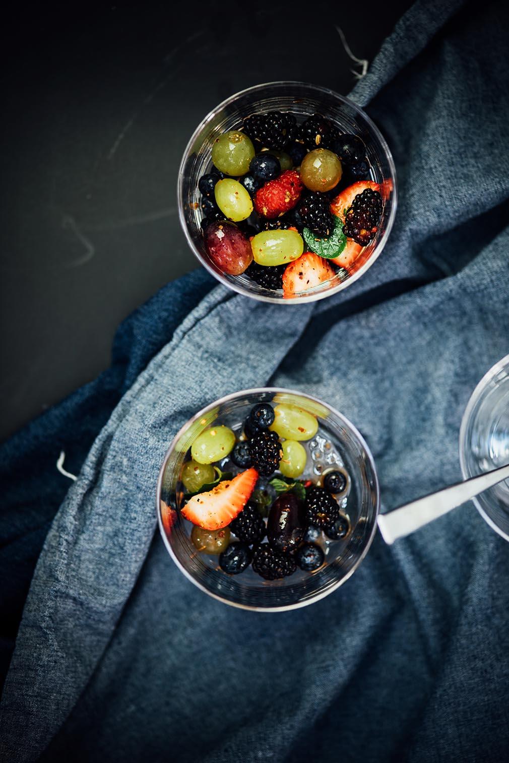 spiced fruit salad  Nik Sharma for SF Chronicle