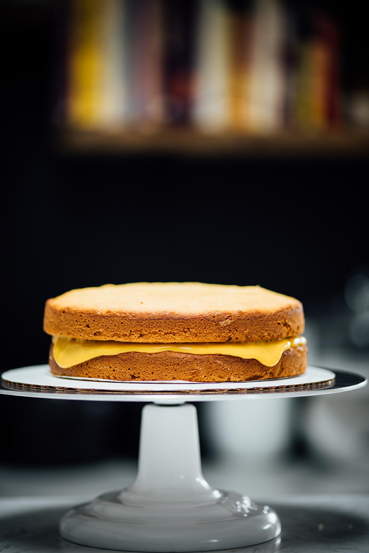 summer mango celebration cake| Nik Sharma for @SFChronicle